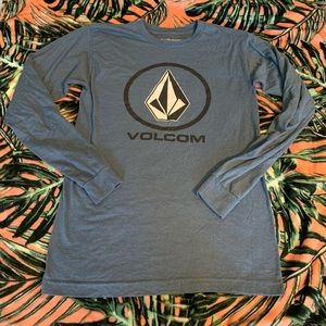 Unisex Adult Size S Volcom Long Sleeve Tee